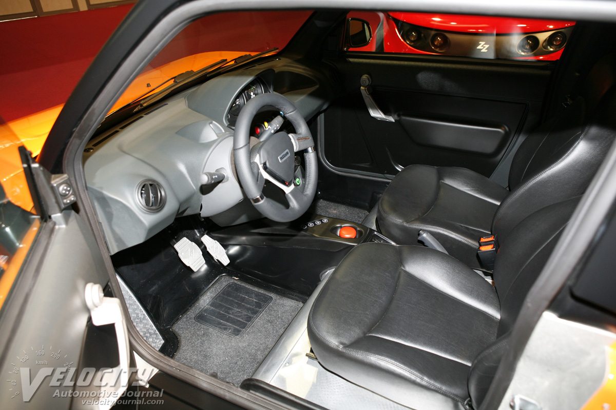 2011 Tazzari Zero Interior