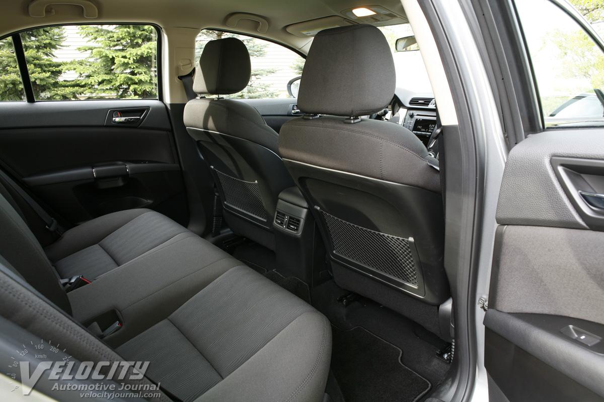 2010 Suzuki Kizashi SE AWD Interior