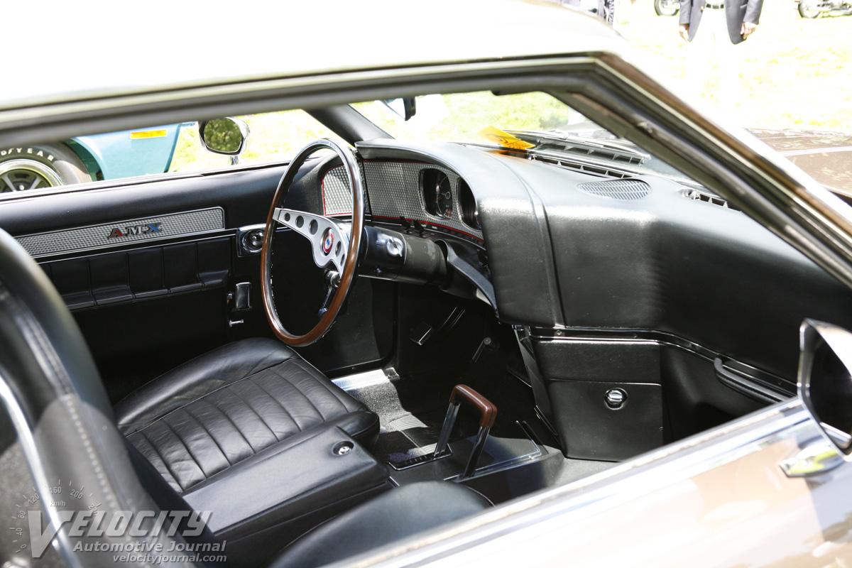 1971 AMC Javelin AMX Interior