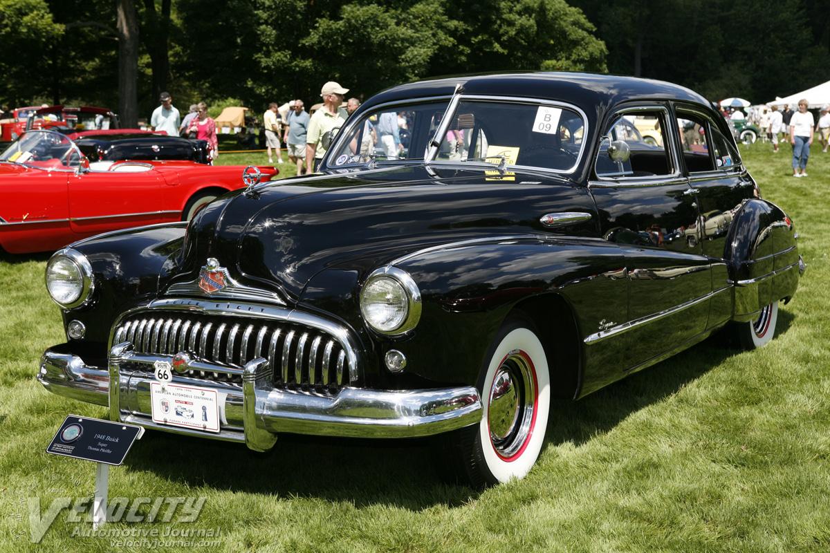 1948 Buick Super 4d