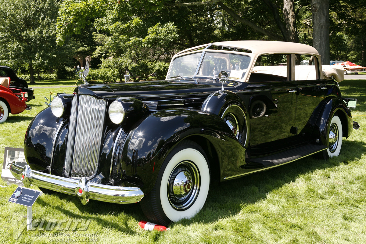 1938 Packard 1607 Touring Cabriolet by Brunn