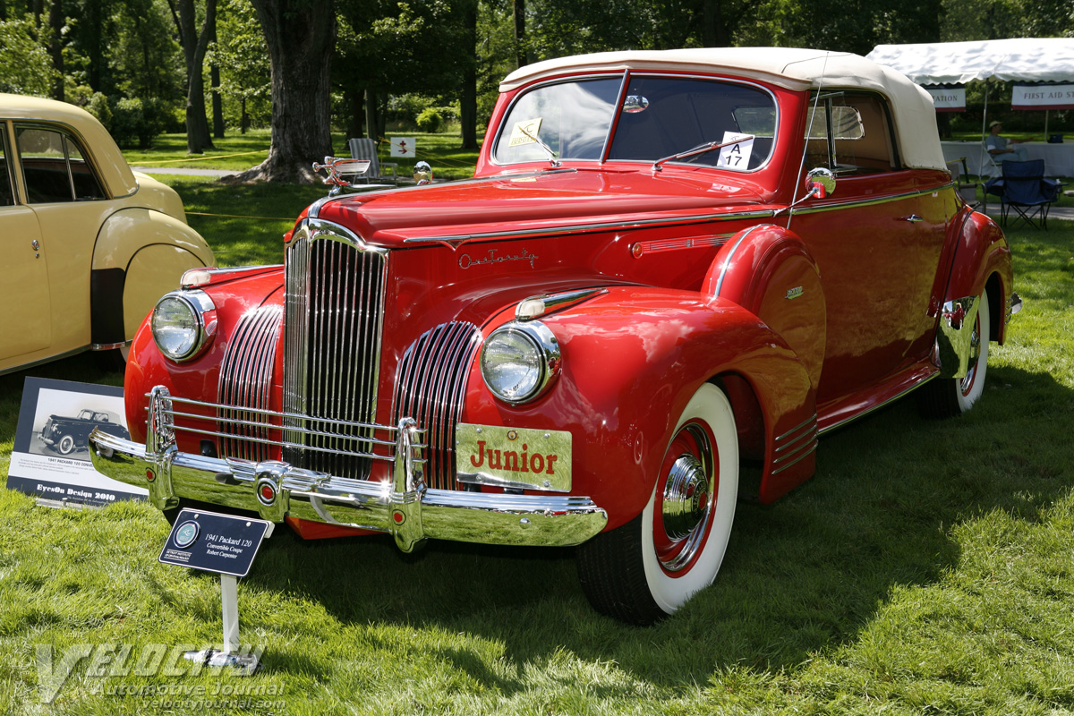 1941 Packard One Twenty Convertible Coupe