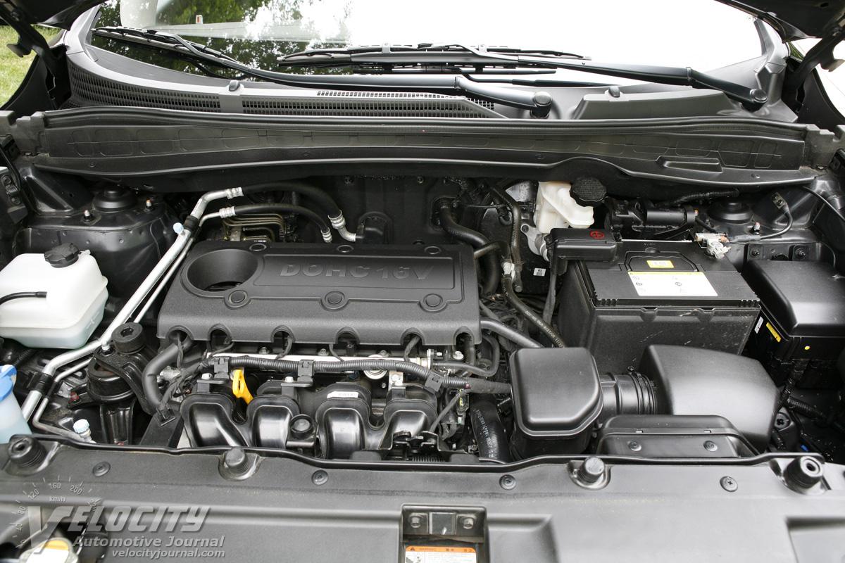 2010 Hyundai Tucson GLS Engine