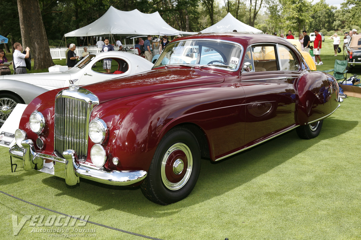 1954 Bentley R-Continental Fastback Sports Saloon by H.J Mulliner