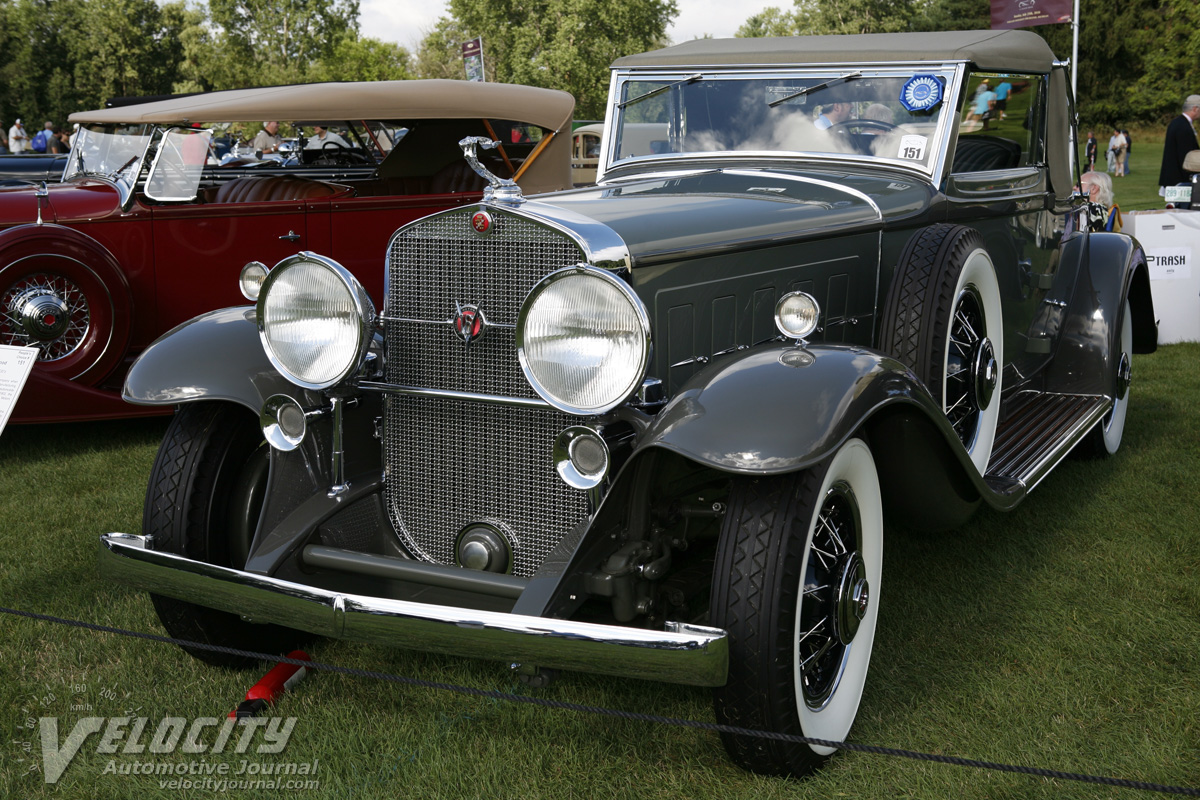 1930 Cadillac V16 Convertible Coupe by Fleetwood