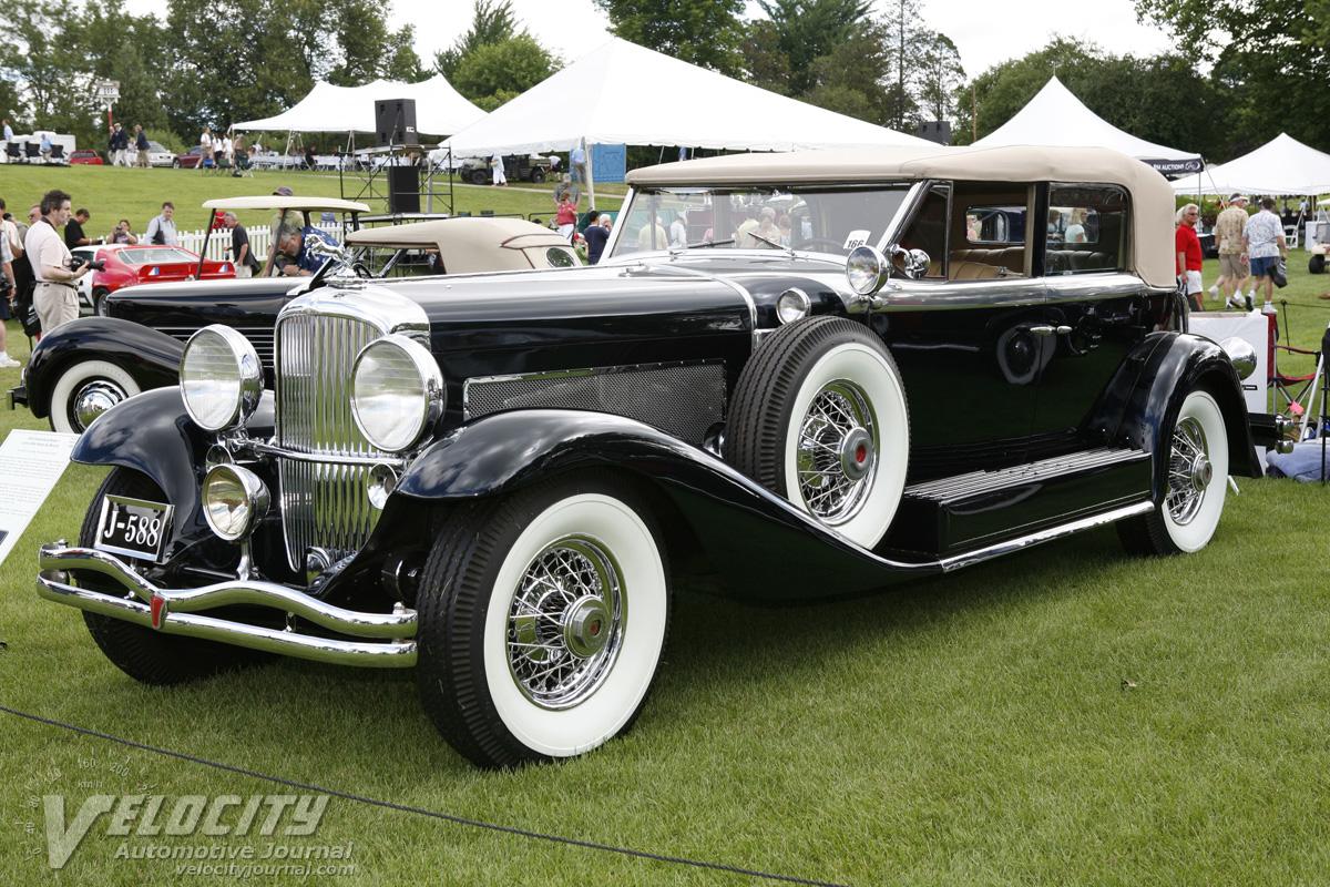 1936 Duesenberg Model ...