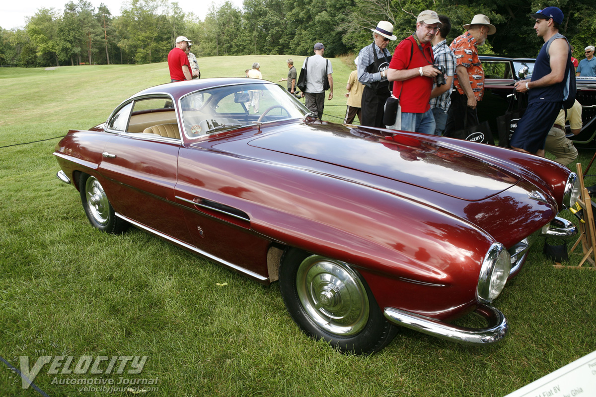 1954 Fiat 8V Supersonic Coupe by Ghia