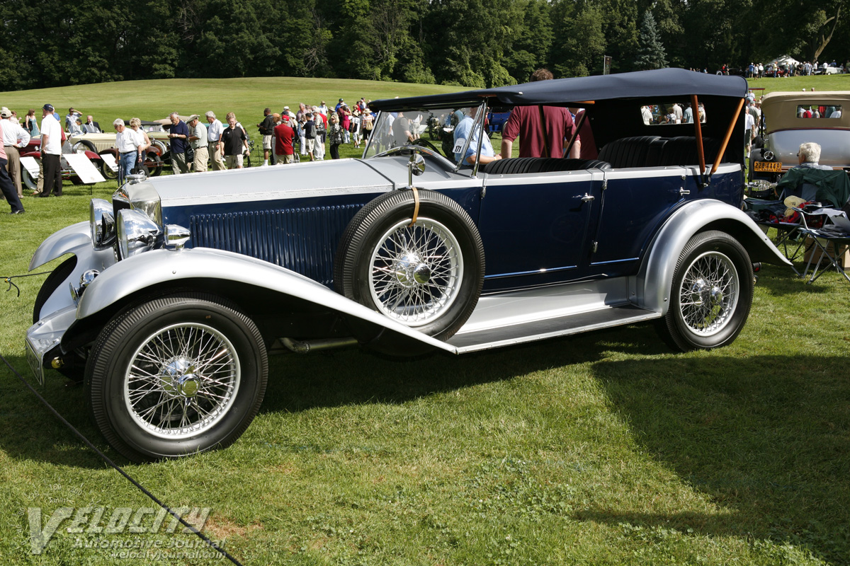 1929 Invicta A-Type 4-door Touring by Carlton
