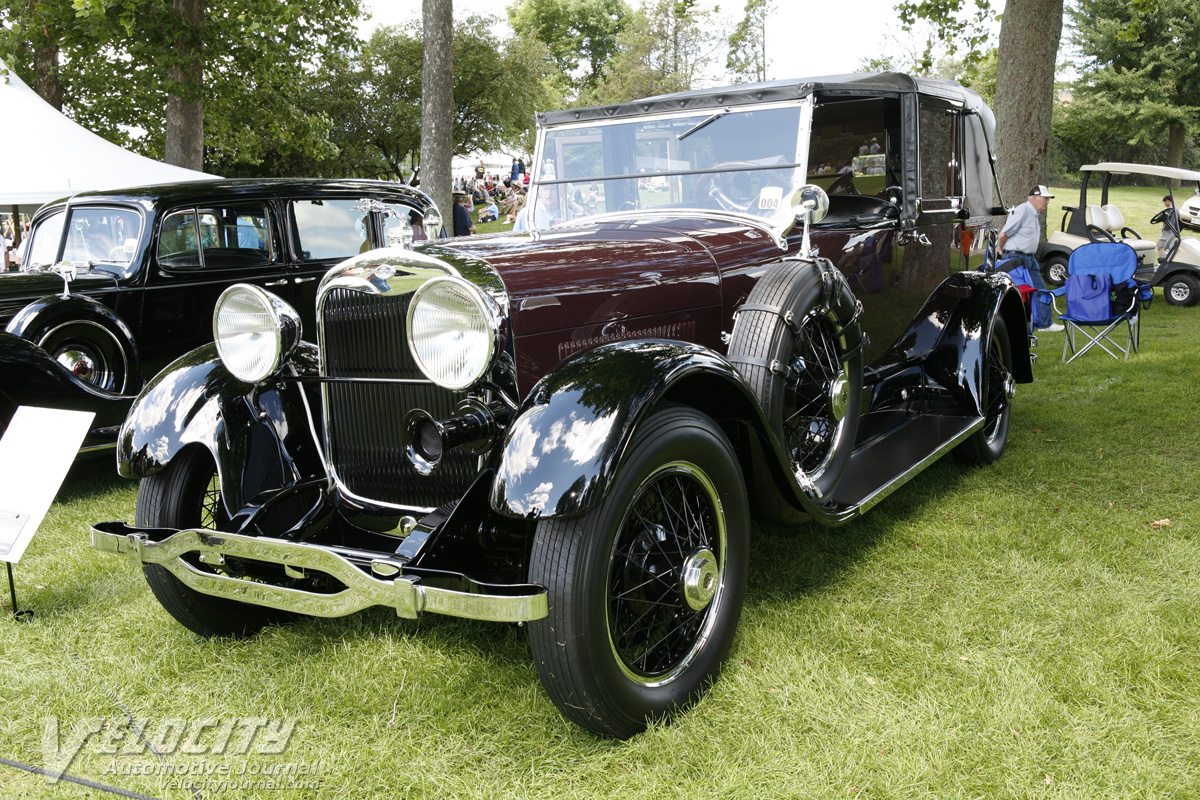 1926 Lincoln Model L 149A 5-passenger cabriolet by Dietrich