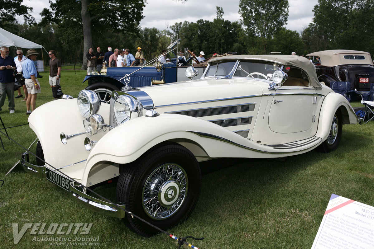The MercedesBenz 500K540K Special Roadster is one of the most beautiful