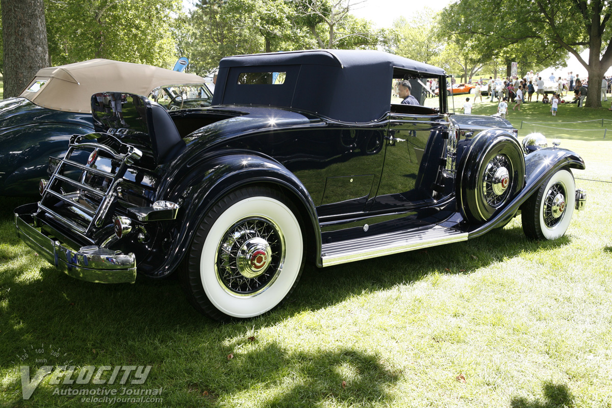1932 Packard Model 905 convertible coupe