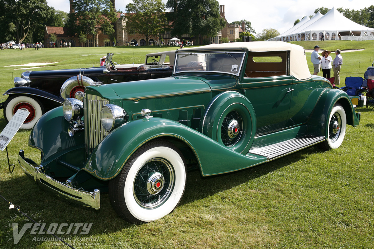 1934 Packard Model 1101 Coupe Roadster