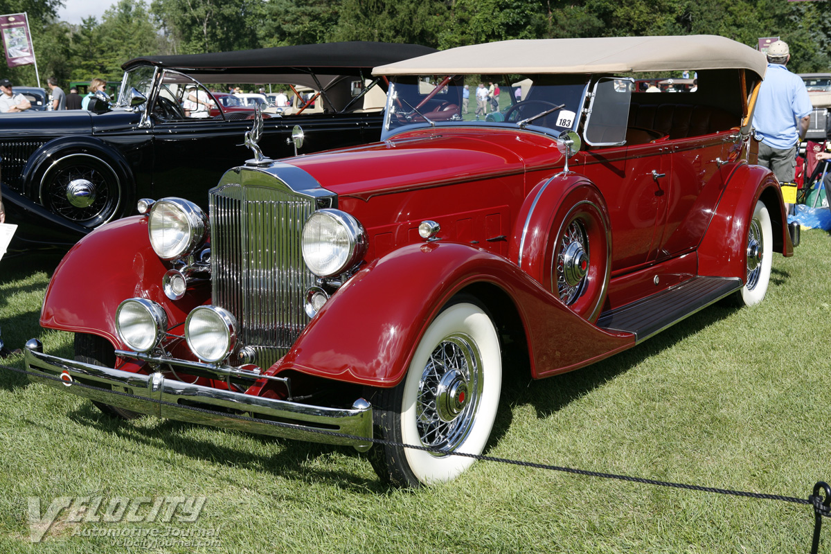 1934 Packard Model 1104 Phaeton