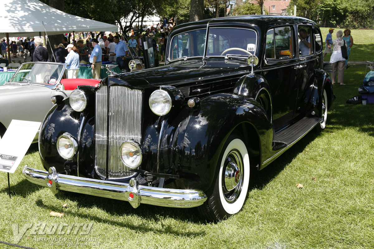1938 Packard Model 1608 Limousine by Bohman & Schwartz