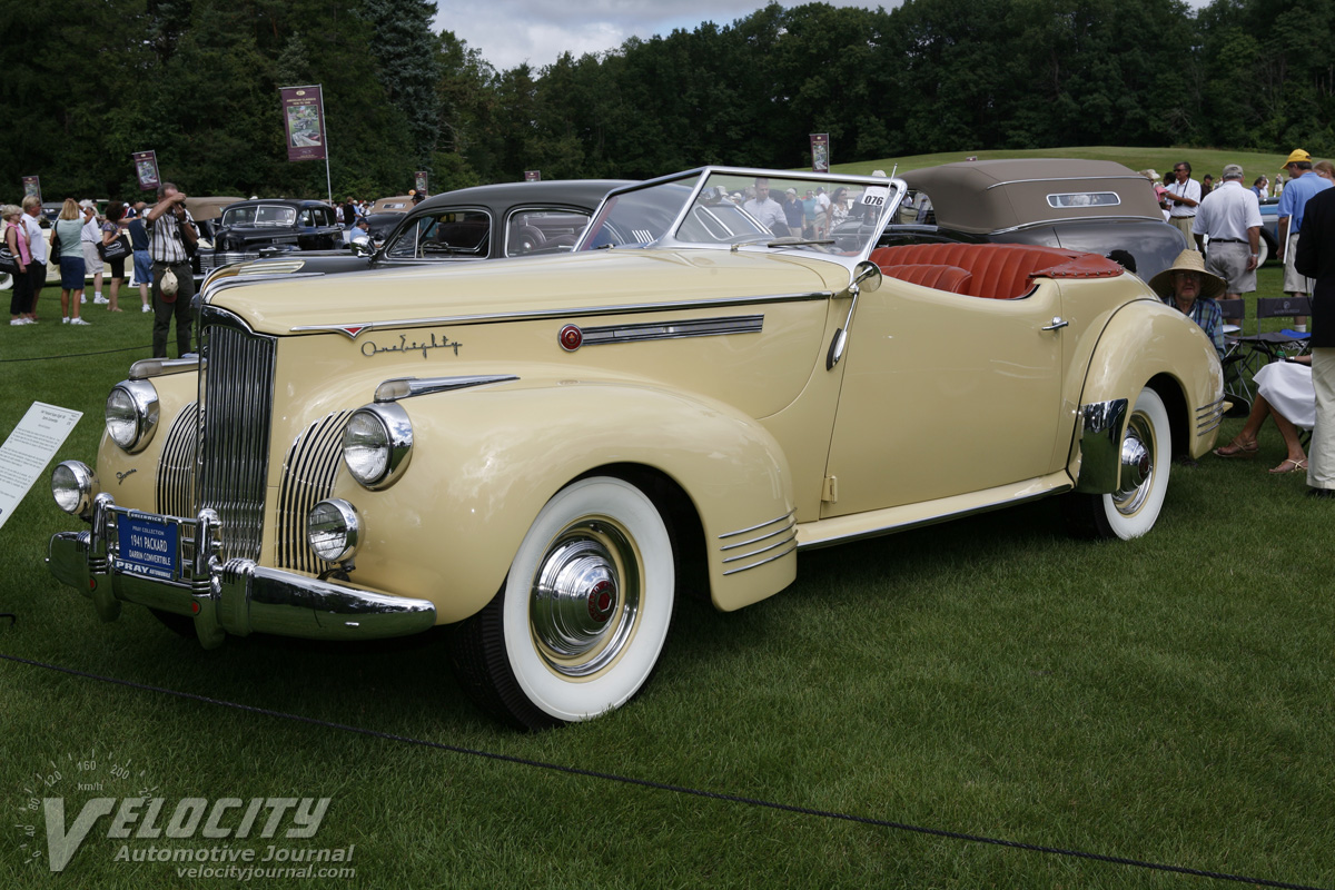 1941 Packard Super Eight 180 Darrin Convertible