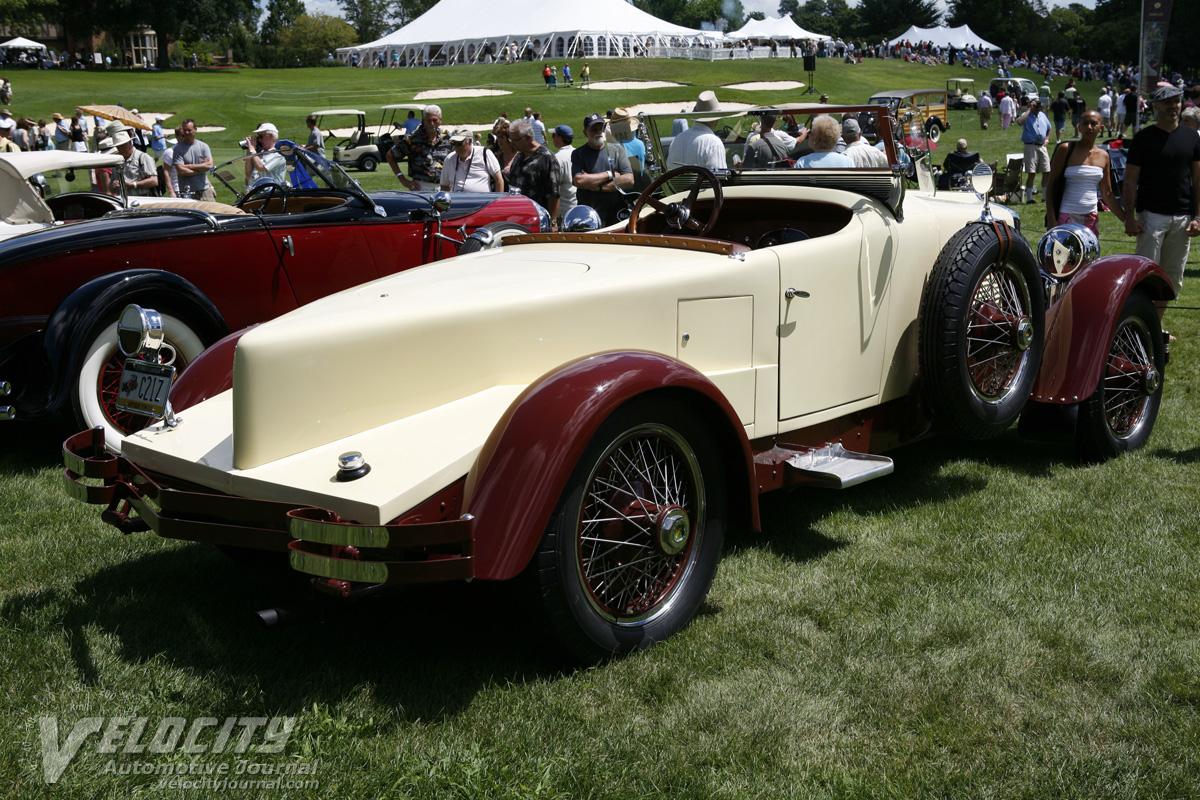 1927 Stutz AA  Black Hawk Boattail Speedster
