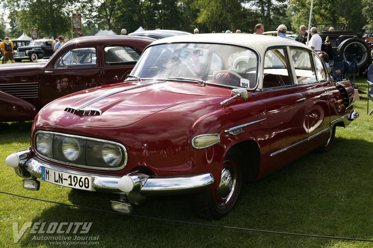 1958 Tatra T-603 4-door sedan