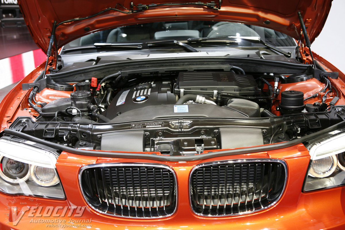 2011 BMW 1-Series Coupe Engine