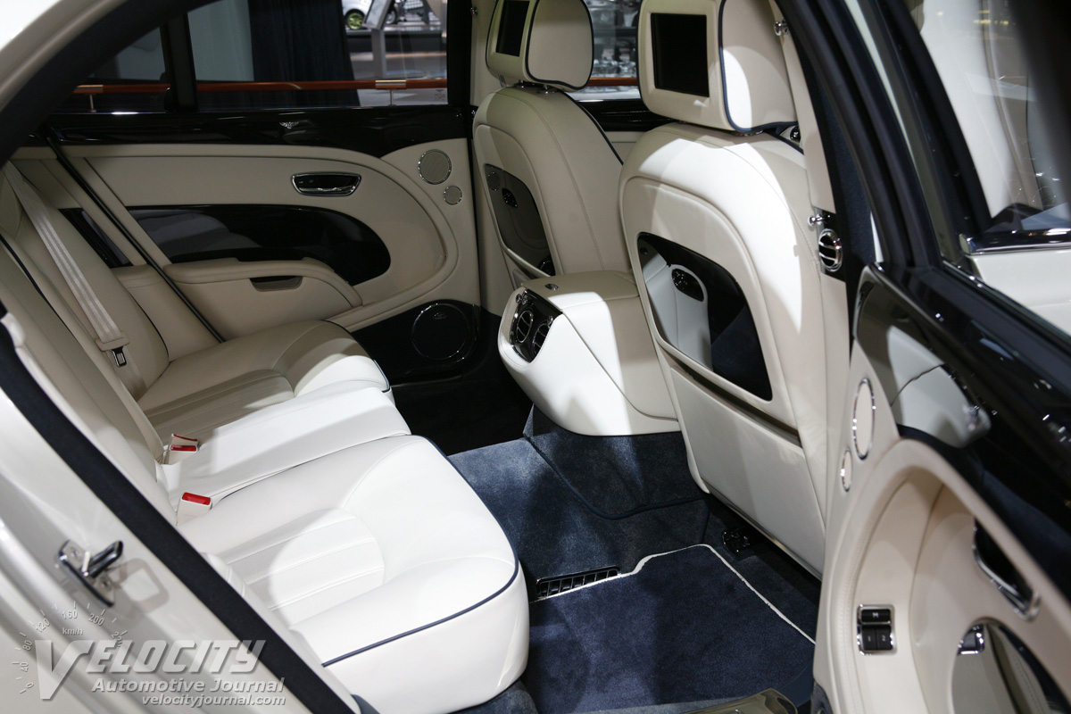 2011 Bentley Mulsanne Interior