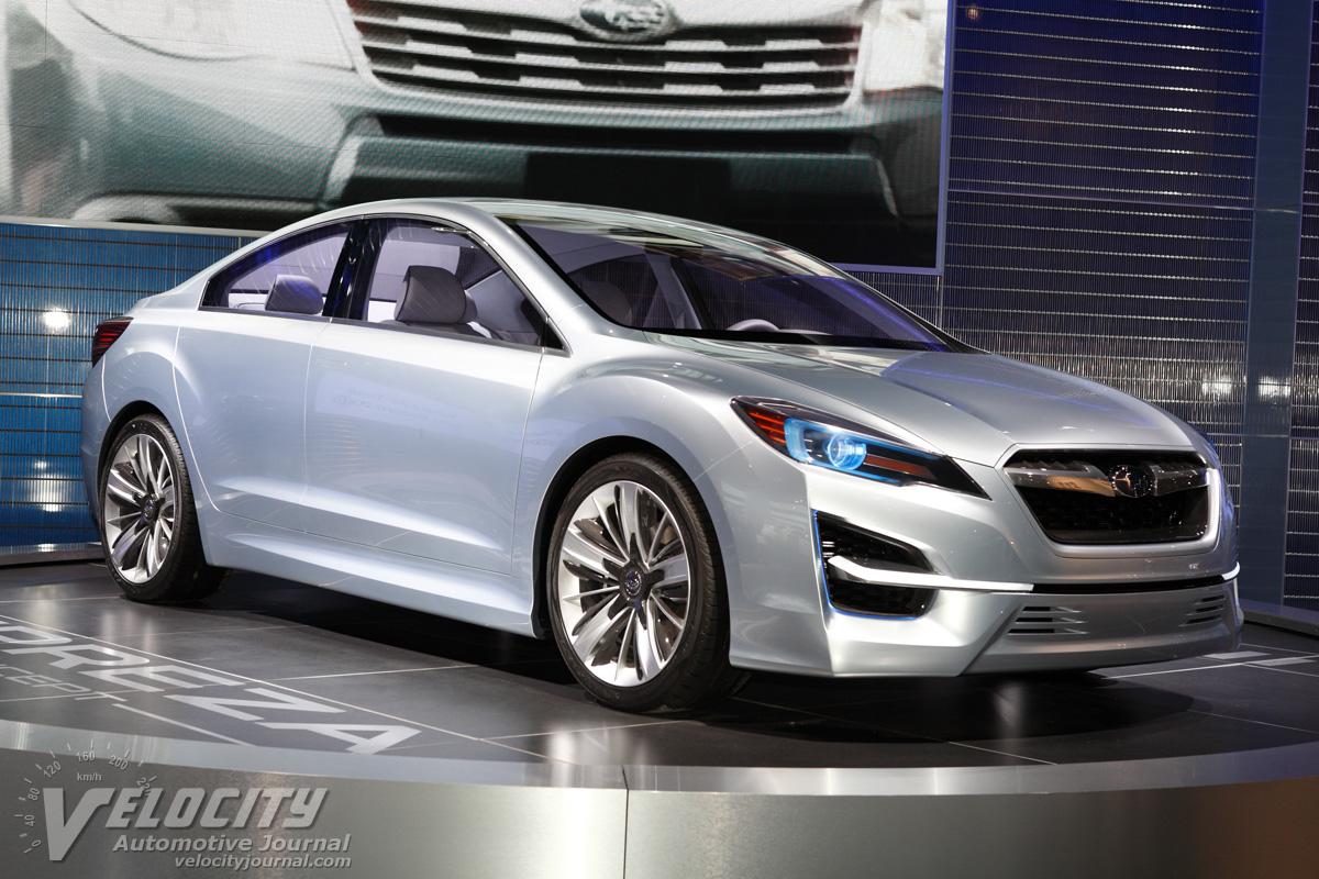 2010 Subaru Impreza Design Concept