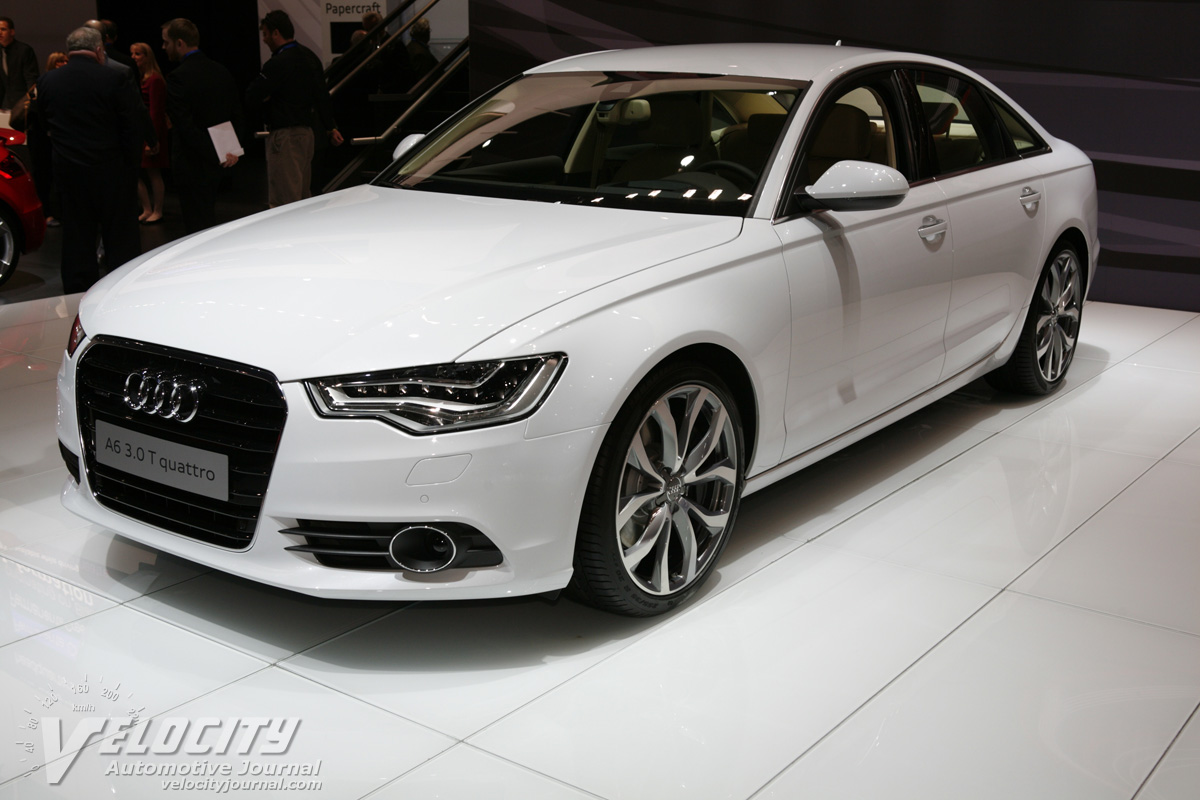 2012 Audi A6 Sedan
