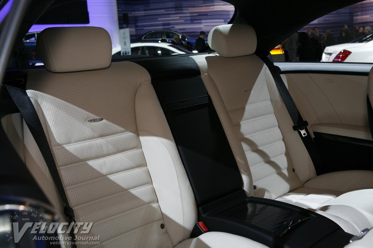 2011 Mercedes-Benz CL-Class CL63 AMG Interior