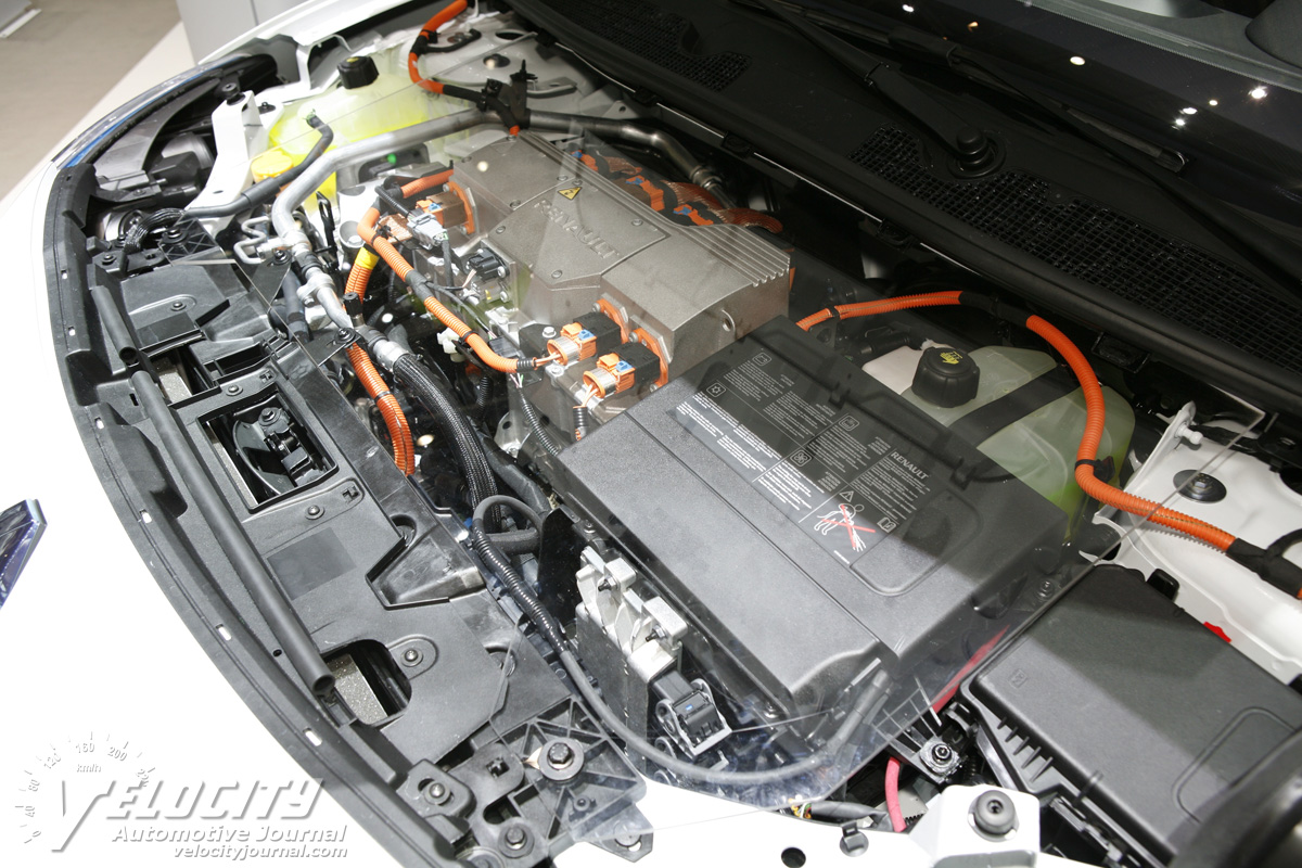 2010 Renault Zoe Z.E. Engine