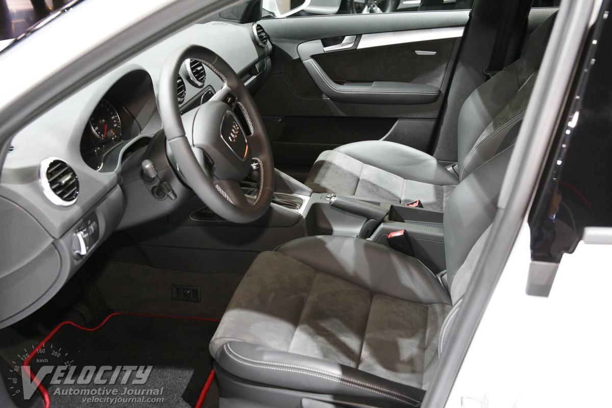 2011 Audi A3 e-tron Interior