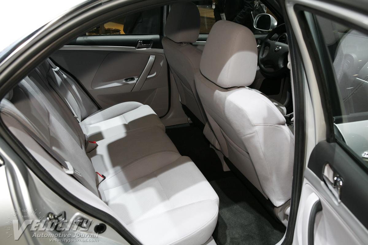 2012 Coda Automotive Coda Interior