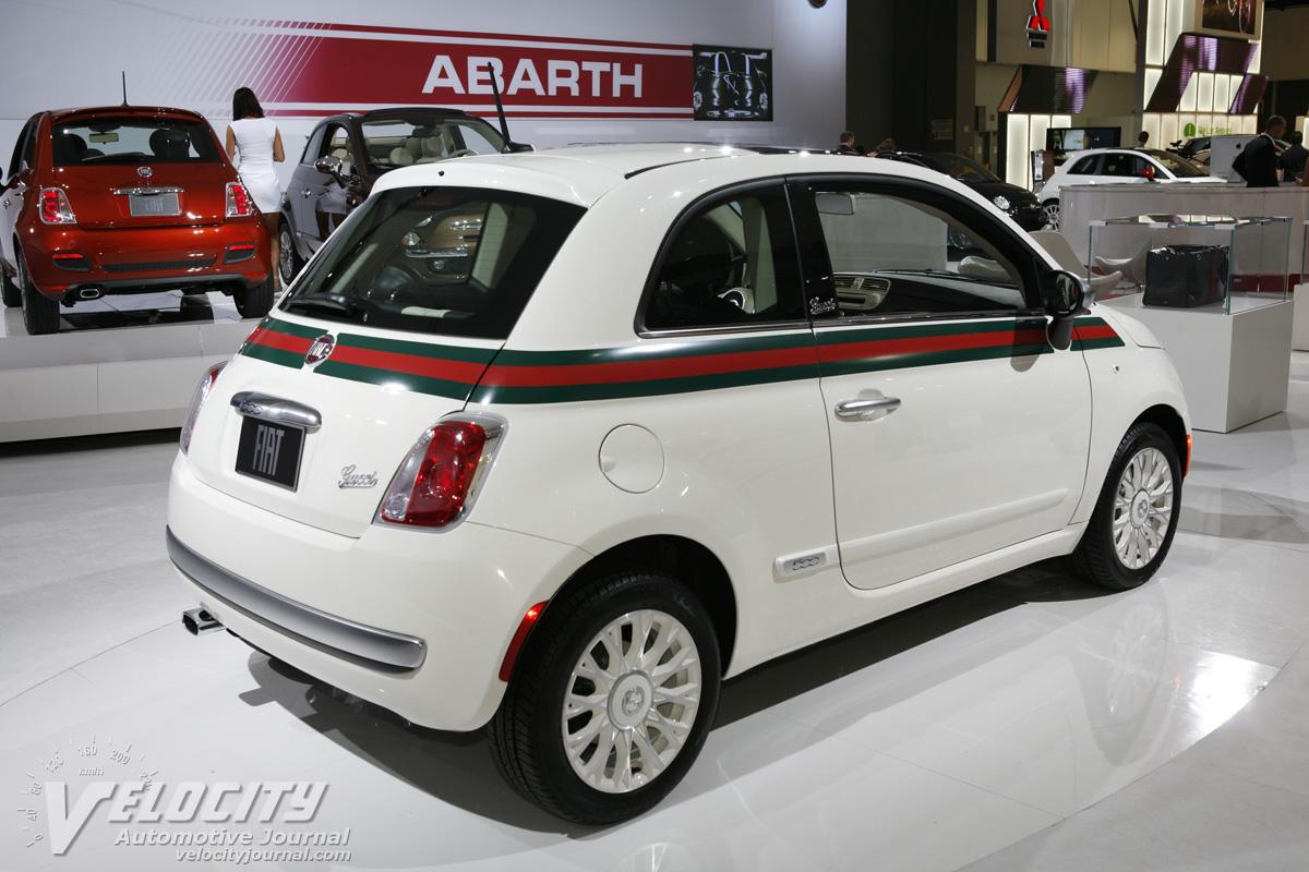2012 Fiat 500 Gucci
