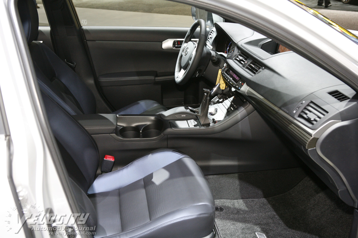 2012 Lexus CT 200h F Sport Interior