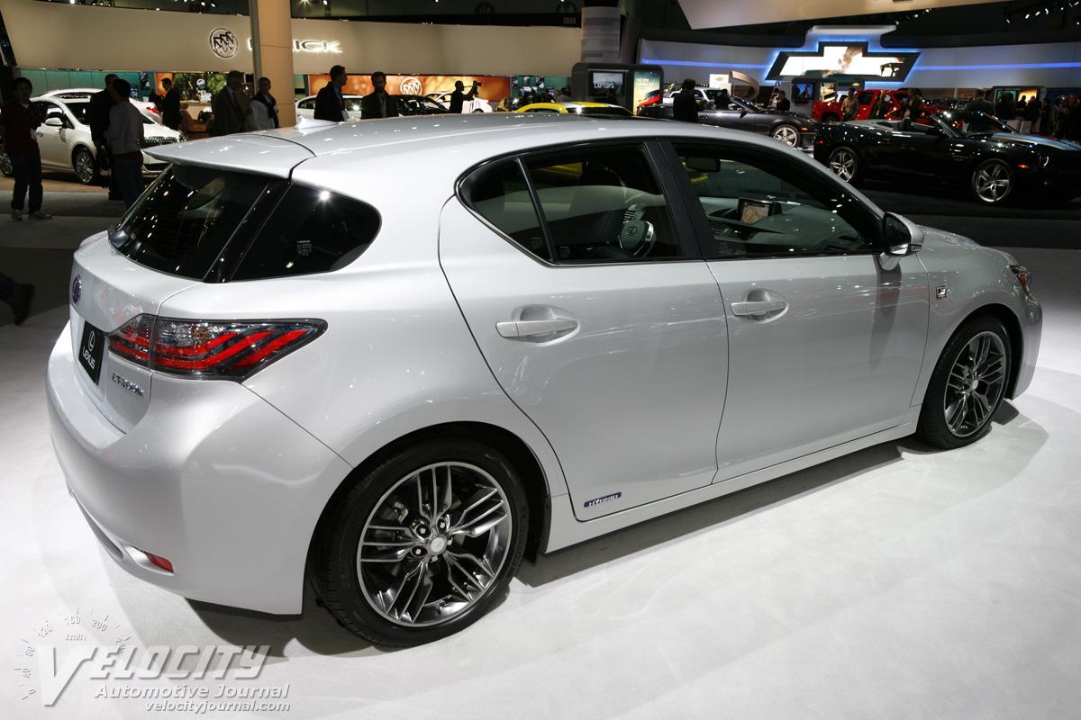2012 Lexus CT 200h F Sport