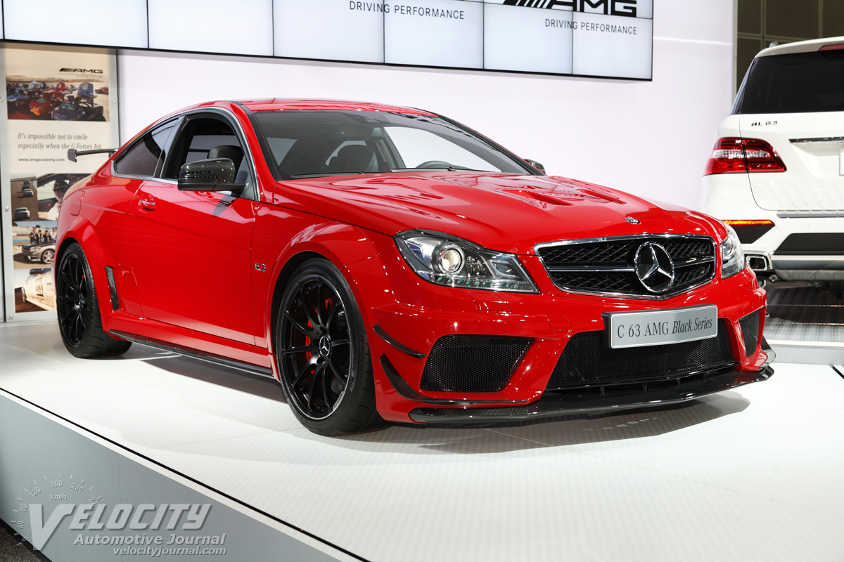 2012 Mercedes-Benz C-Class coupe C63 AMG Black Series
