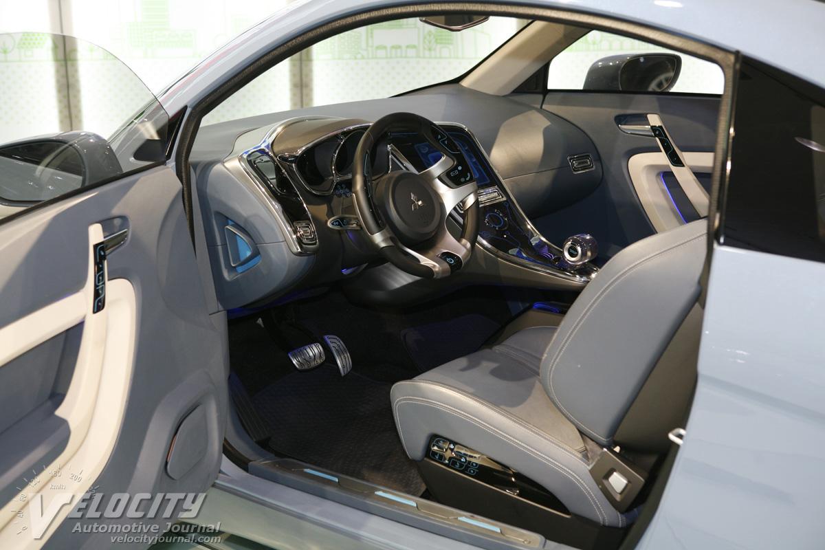 2009 Mitsubishi iMiEV SPORT AIR Interior