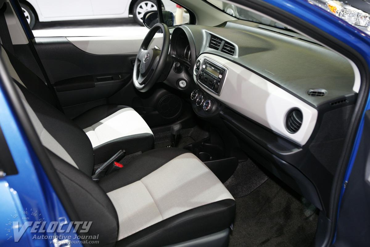 2012 Toyota Yaris 5d Liftback Interior
