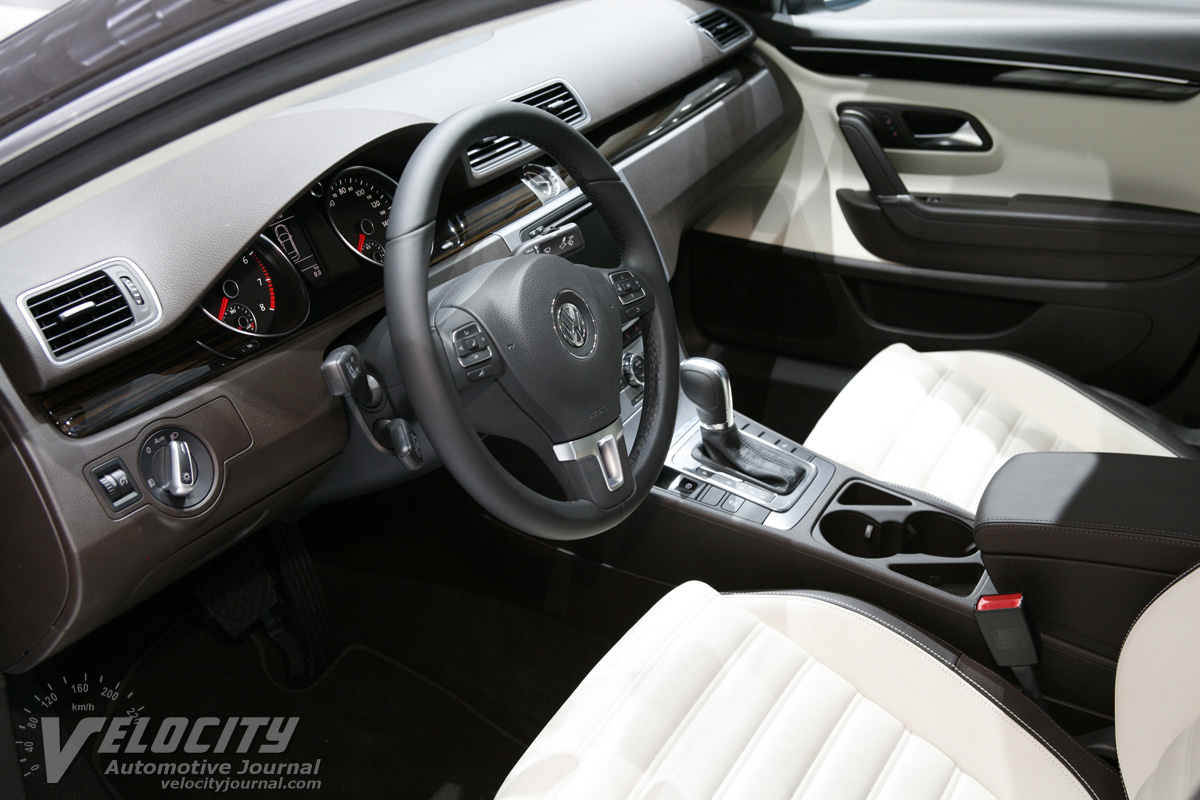2013 Volkswagen CC Interior