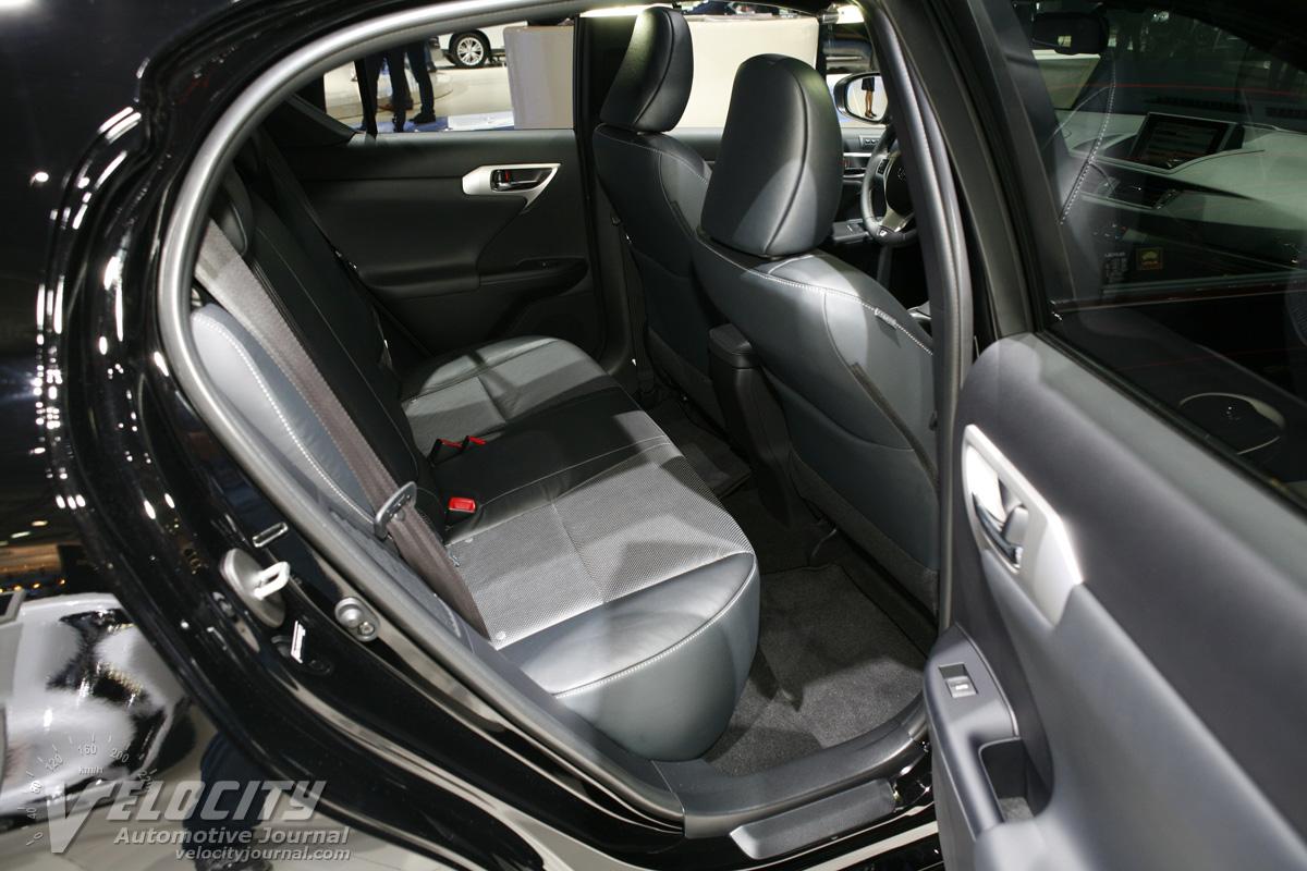 2012 Lexus CT200h Interior