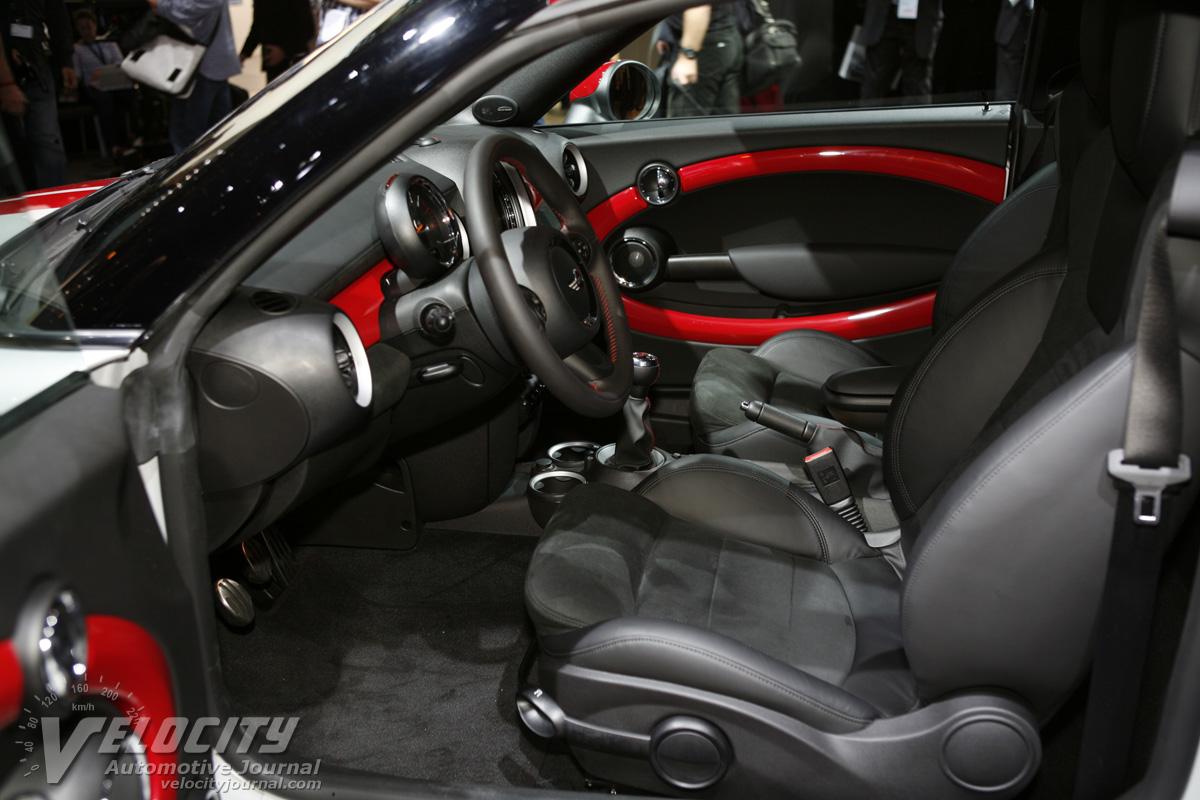 2012 Mini Cooper Coupe Interior