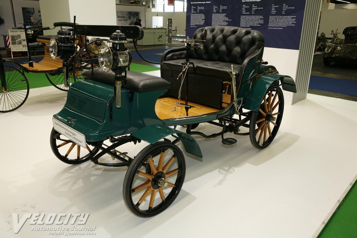 1899 Opel Motorwagen