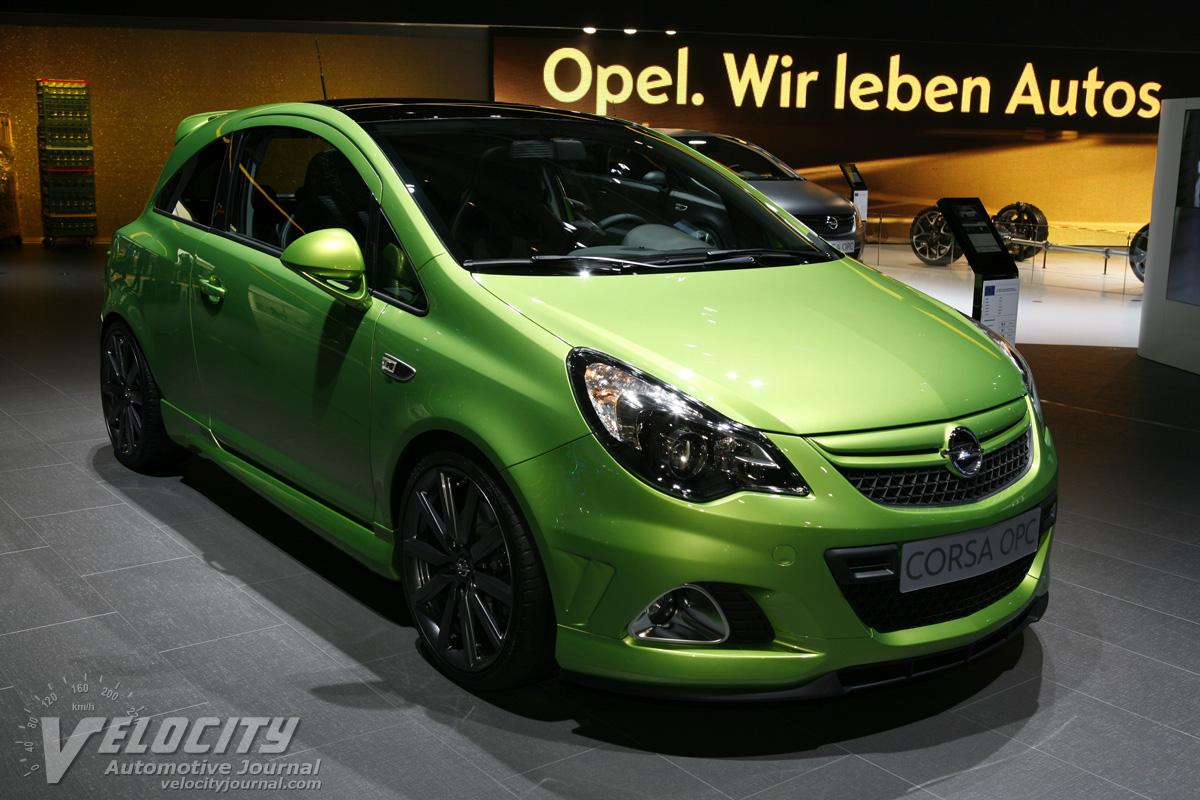 2012 Opel Corsa OPC