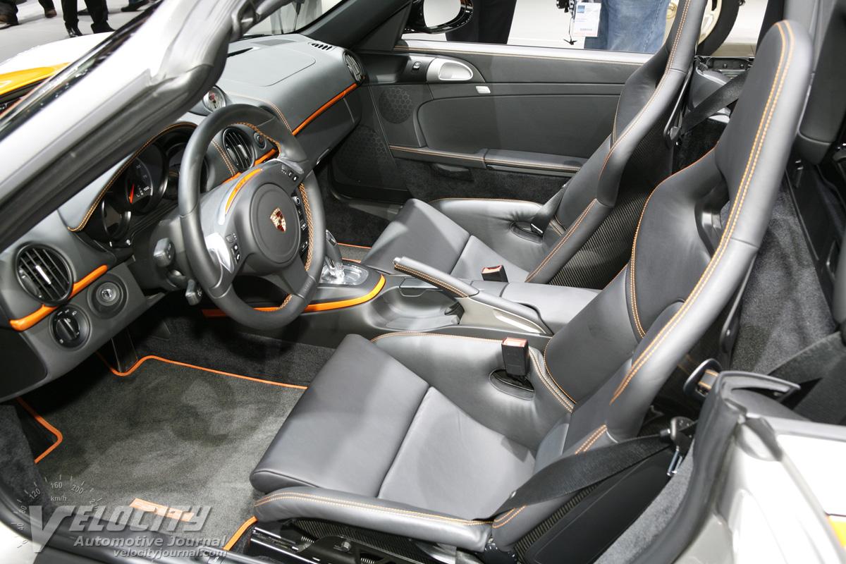 2011 Porsche Boxster E Interior