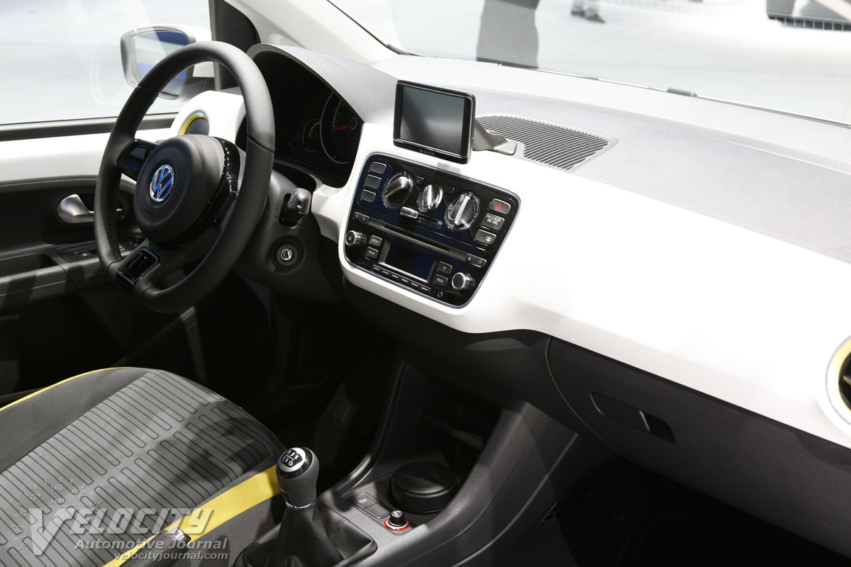 2011 Volkswagen eco up Instrumentation