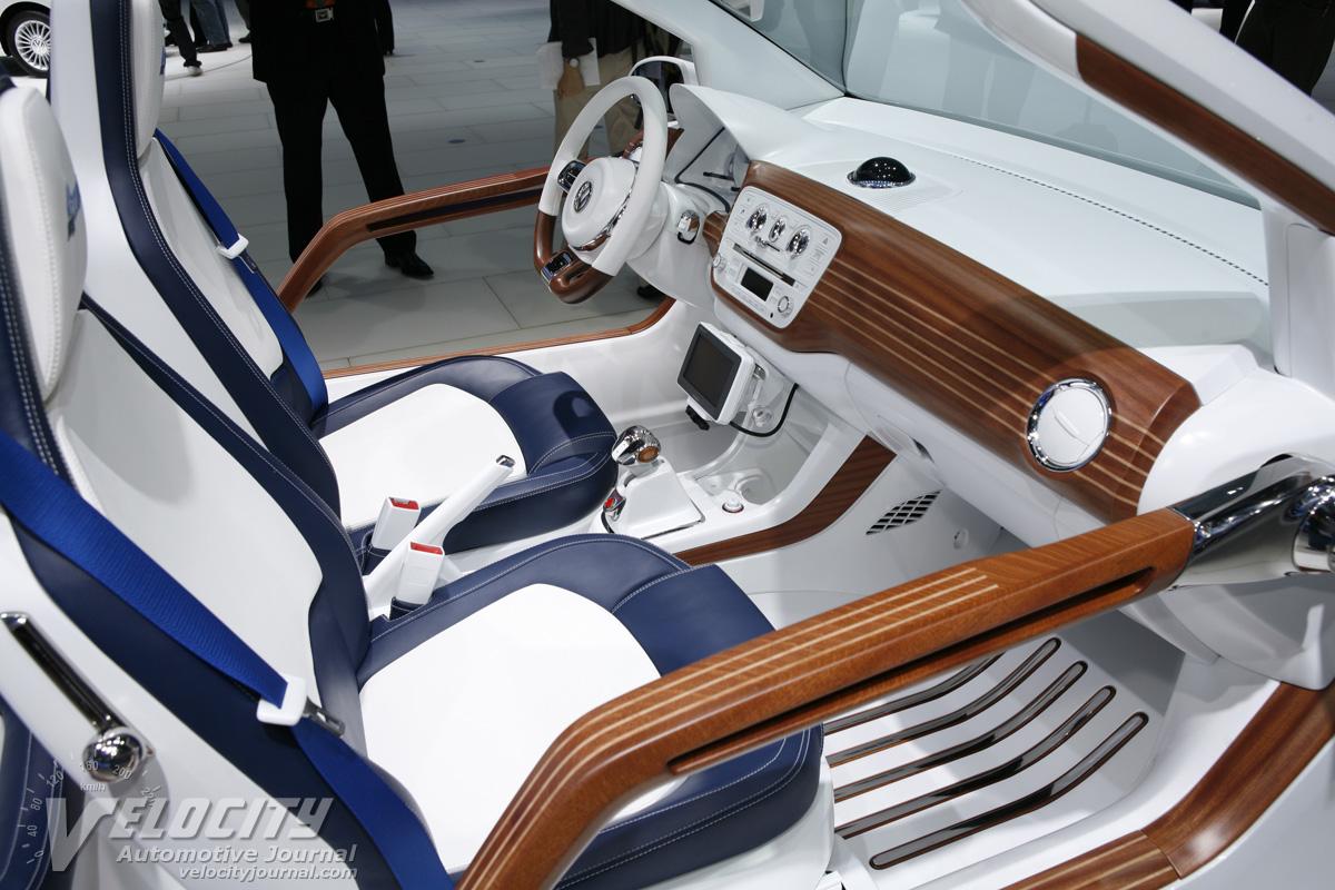 2011 Volkswagen up azzurra sailing team Interior