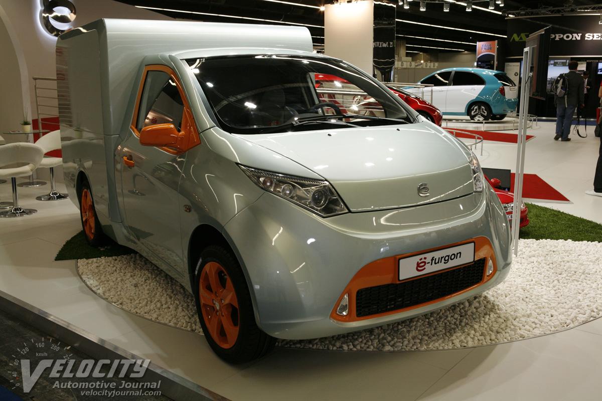 2011 Yo-Auto Yo-fourgon