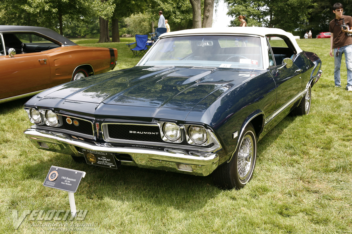 1968 Beaumont SD396 convertible