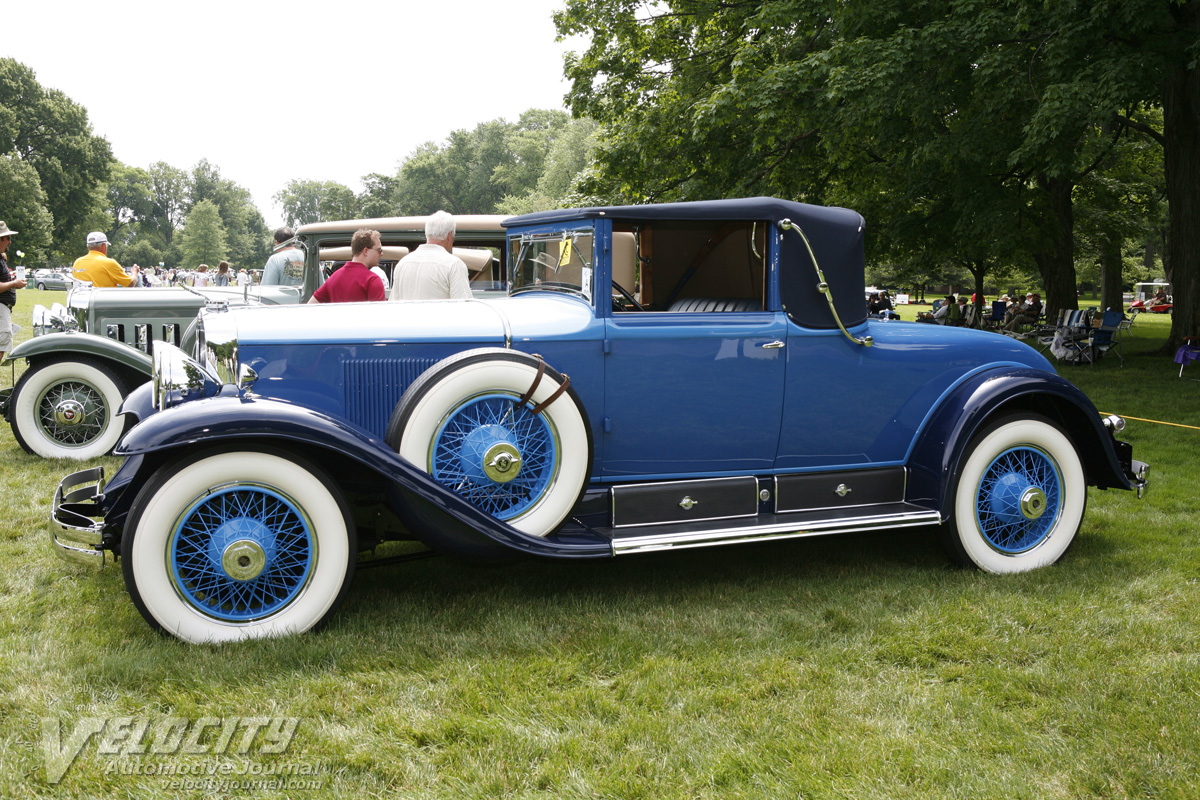 1929 Cadillac Convertible Coupe by Fisher