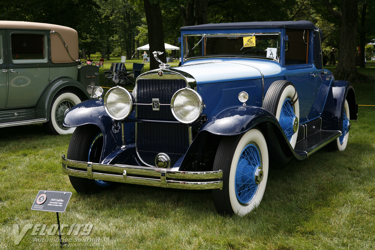 1929 Cadillac 341-B Convertible Coupe by Fisher pictures
