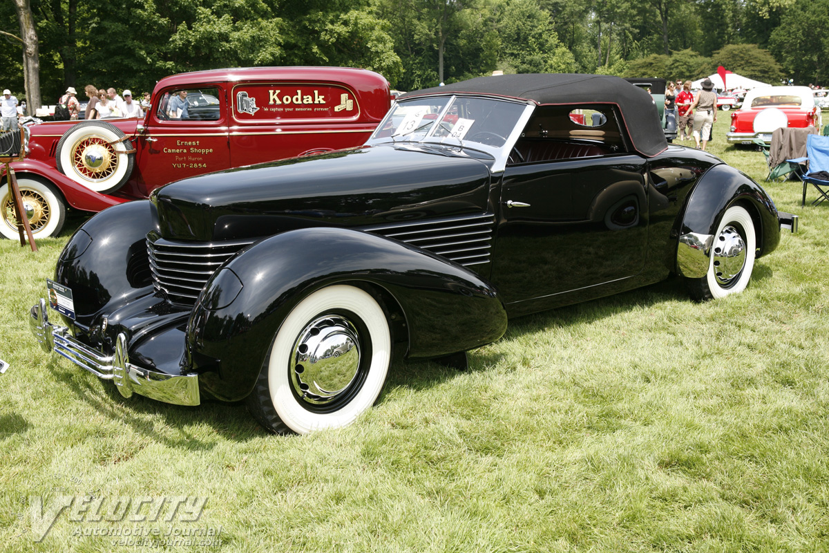 1936 Cord 810 Convertible Coupe