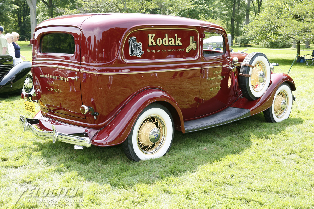 1934 Ford Delivery Sedan