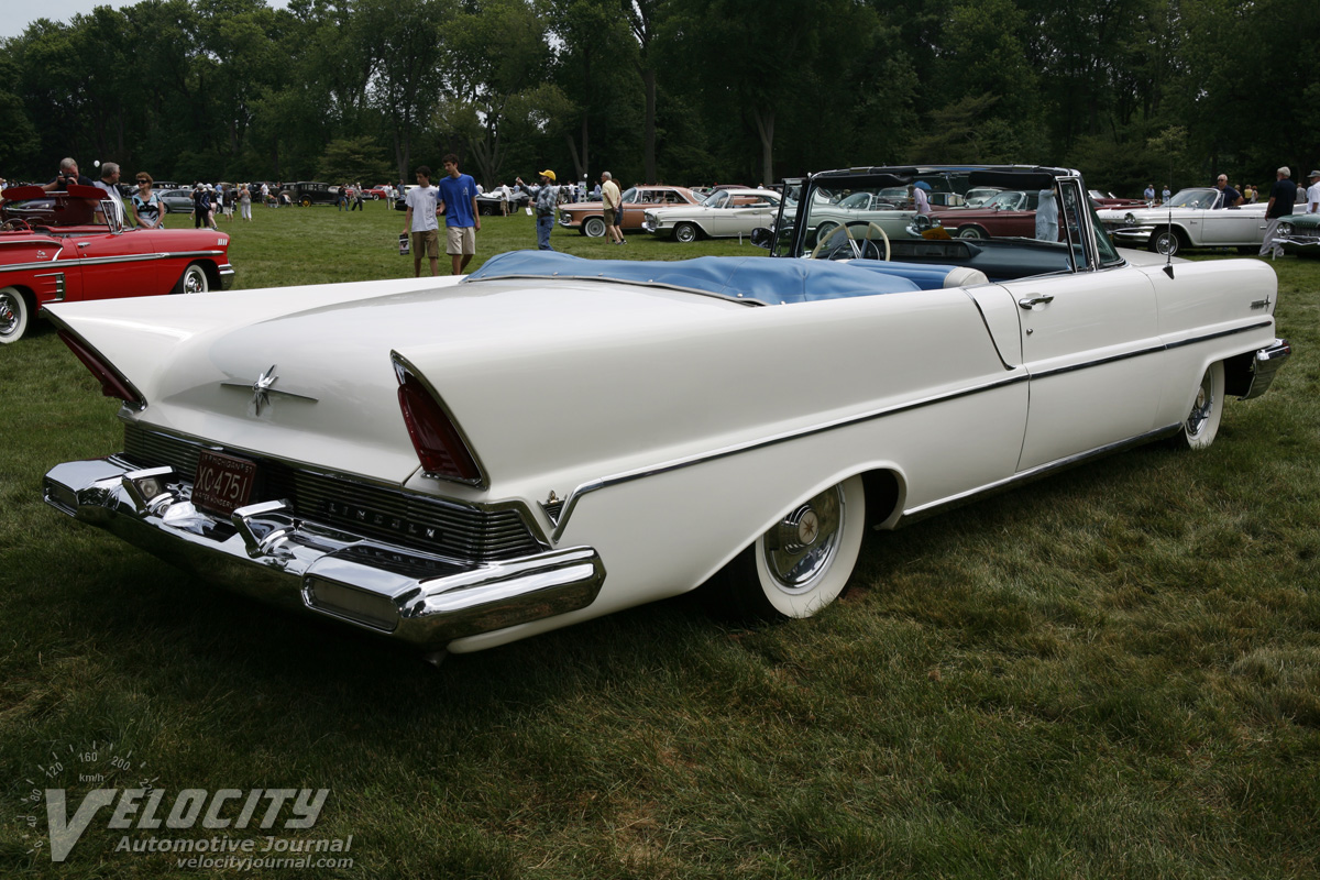 1957 lincoln premiere convertible pictures. Black Bedroom Furniture Sets. Home Design Ideas